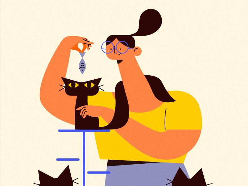 cat-dribbble